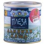 ПЛЕЗА Каша льняная вкус Клубника, 400 г