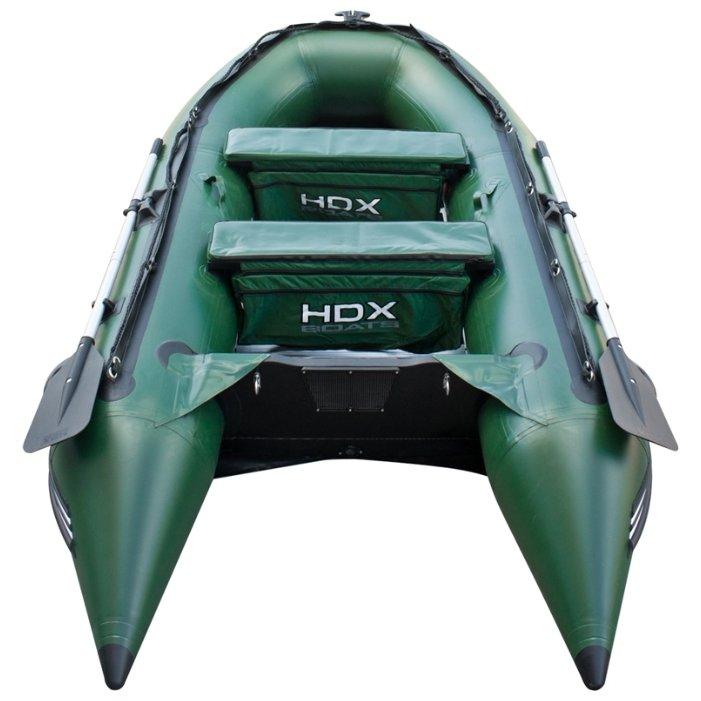 надувная пвх лодка hdx classic 370