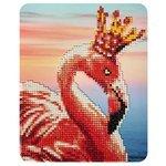 Color Kit Алмазная картина Королевский фламинго (M001) 17х21 см