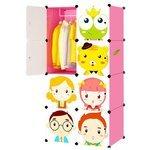 COSTWAY Детский стеллаж для одежды HW12134
