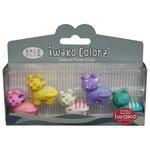 IWAKO Набор ластиков Colorz Tiger