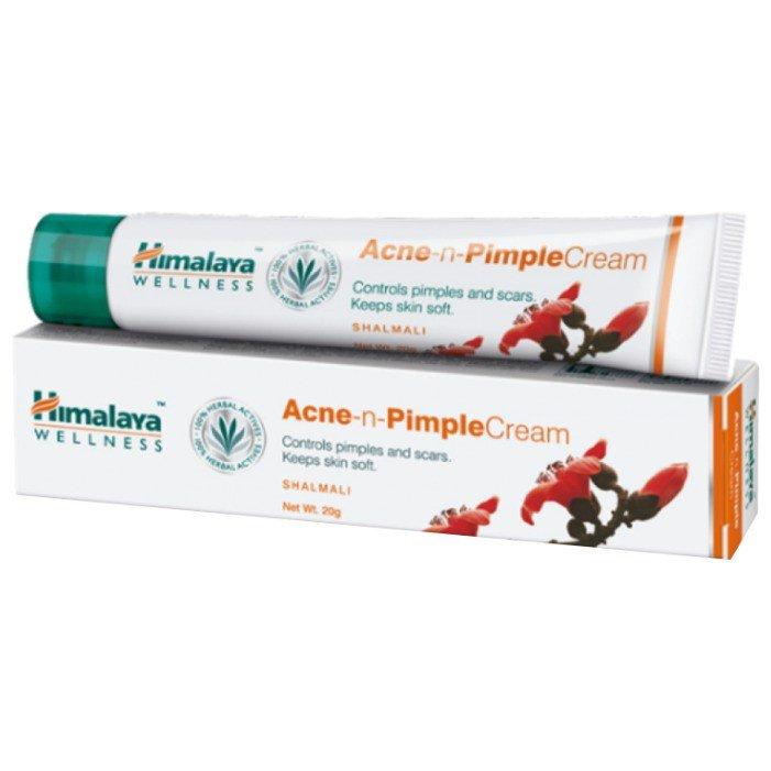Купить Himalaya Herbals Крем для проблемной кожи Acne-n-Pimple Cream