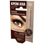 Fito косметик краска для бровей и ресниц Крем-хна