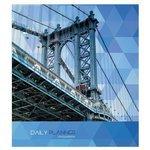 Ежедневник Канц-Эксмо Манхэттенский мост недатированный, А5, 128 листов
