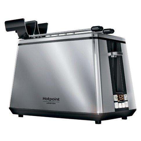 Купить Тостер Hotpoint-Ariston TT 22E AB0 черный в интернет магазине DNS. Характеристики, цена Hotpoint-Ariston TT 22E AB0   1027576