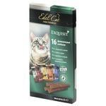 Лакомство для кошек Edel Cat Мини-колбаски Мультипак 4 сорта